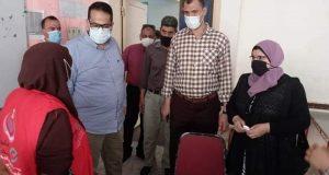 استمرار تلقي معلمي الغربية مصل اللقاح ضد فيروس كورونا بجميع الادارات | استمرار