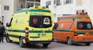 إصابة 8 أشخاص في حادث تصادم سيارة بشادر بطيخ بكفر الشيخ. | حادث