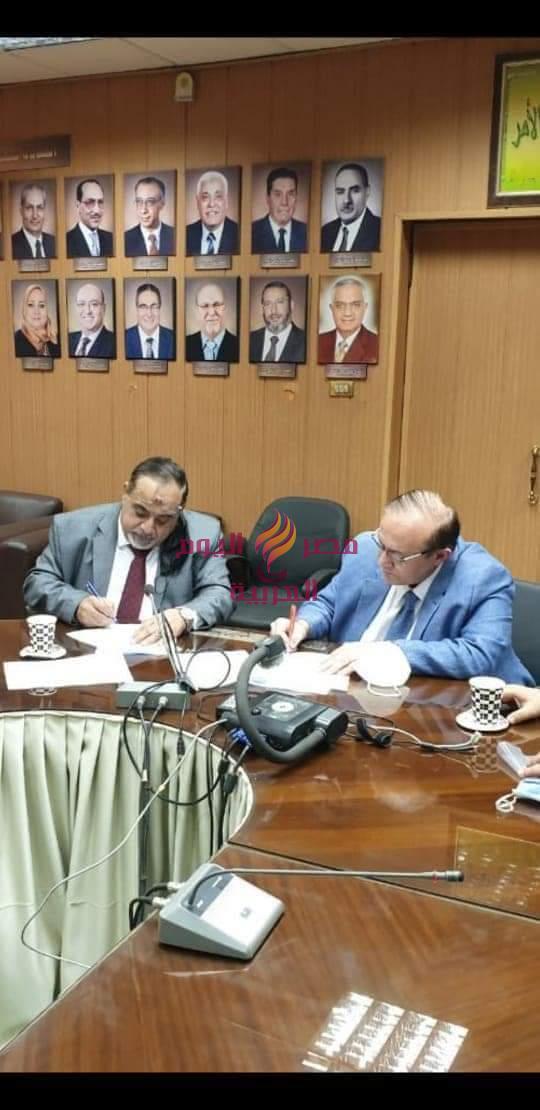 بروتوكول تعاون بين كلية الطب جامعة المنصورة وكلية الطب جامعة دمياط   تعاون
