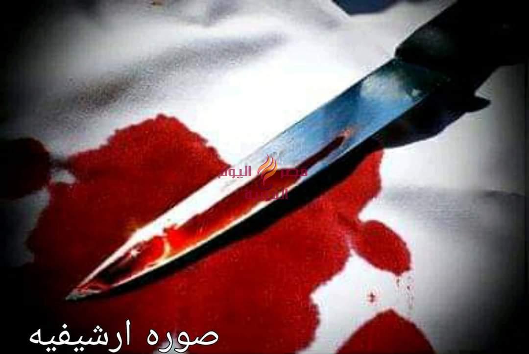 شاب يقتل والده ويصيب اخويه بطنطا