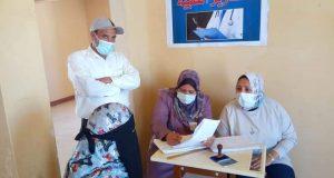 الكشف على 1163 مريض خلال قافلة طبية متعددة التخصصات بغرب النوبارية | الكشف