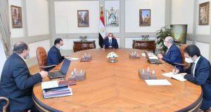 الرئيس السيسي؛ يطلع على خطوات تطوير محطة الزهراء العريقة للخيول العربية