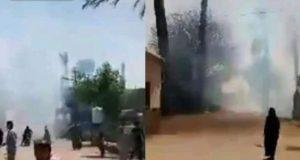 حريق هائل يلتهم عدة منازل في قرية البربا بمركز جرجا وجاري محاولة السيطرة عليها   حريق