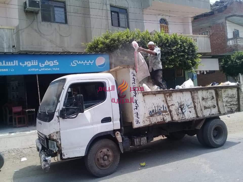 رئيس قرية شراء الملح.. يواصل جولات الميدانية بنطاق الوحدة المحلية   رئيس