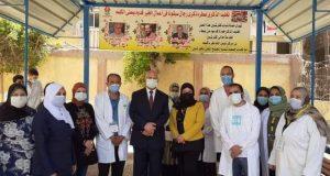 انطلاق حملة طرق الأبواب من جامعة بنها ضمن المبادرة الرئاسية حياة كريمة بشبين القناطر   انطلاق