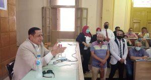 اللواء محمد عبد الوهاب السعدنى رئيس مركز ومدينة المحله الكبرى يعقد لقاءا جماهيريا موسعا مع المواطنين   اللواء