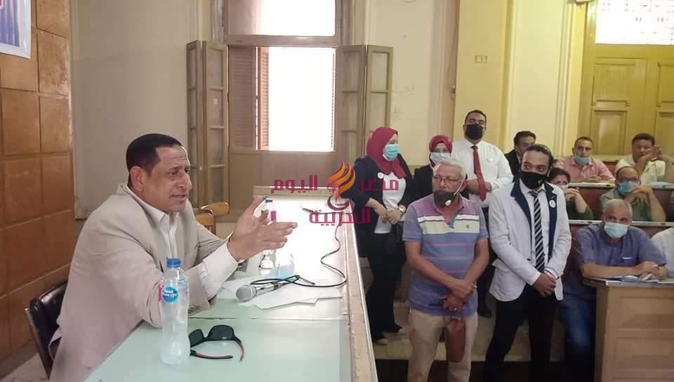اللواء محمد عبد الوهاب السعدنى رئيس مركز ومدينة المحله الكبرى يعقد لقاءا جماهيريا موسعا مع المواطنين | اللواء
