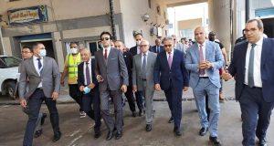 خلال جولة محافظ بورسعيد وأعضاء لجنة الإدارة المحلية بمجلس النواب   خلال