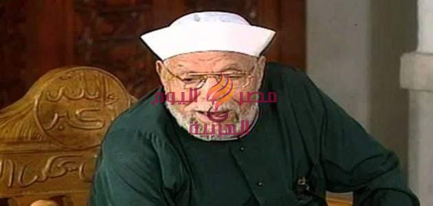 في ذكري وفاه الشيخ محمد متولي الشعراوي