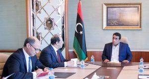 رئيس المجلس الرئاسي يلتقي رئيس المخابرات المصري