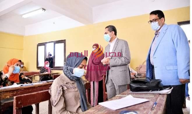 د. رحمي.. يتابع امتحانات الدبلومات الفنيه يوميا. ومتابعه سير عمليه الامتحانات