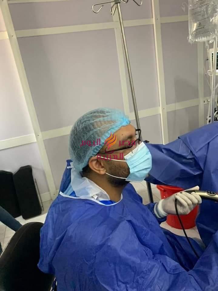 استئصال تضخم حميد بالبروستاتا بمنظار البلازما لأول مرة بمستشفى دكرنس العام