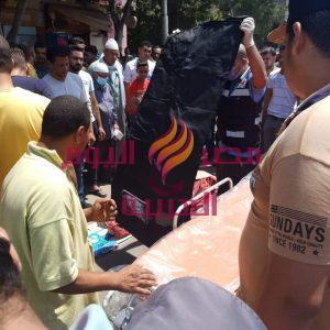 حادث سير امام قرية نقيطة بمحافظة الدقهلية ووفاة شخص