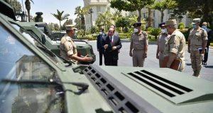 السيسى .. يلتقى بوزير الدفاع ورئيس الأركان لمناقشة تطوير ورفع كفاءة القوات المساحة | السيسى