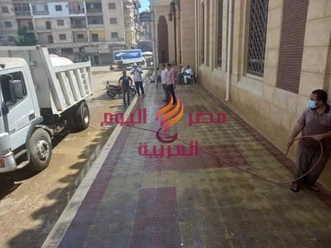 رئيس مدينة دسوق: المساجد الكبرى جاهزة لإستقبال صلاة عيد الاضحى