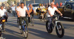 على أنغام السمسمية.. بورسعيد تحتفل بذكرى 30 يونيو في الميناء البري الجديد | على أنغام السمسمية