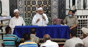 الإجتماع الشهرى لحراس بيوت الله بإدارة أوقاف الرمل بالأسكندرية   الإجتماع