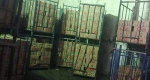 لحوم مصنعه ودجاج مجهول المصدر وغير صالح للإستهلاك الآدمي بمدينة العاشر من رمضان   لحوم
