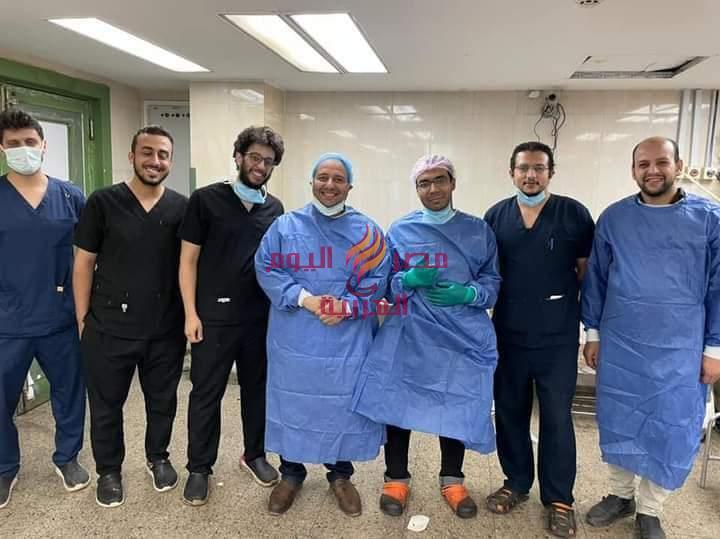إنقاذ حياة شاب مصاب بقطع في الرقبة بمستشفي سوهاج الجامعي | حياة