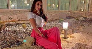 ديانا ميهالوفتش تعلن عن قضائها العطلة الصيفية في مصر   العطلة الصيفية