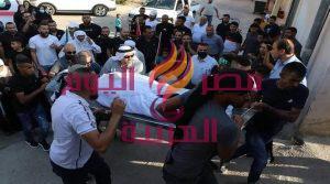 تشييع جثمان الشهيدة كعابنة بعد إحتجازه لمدة شهر من قبل قوات الأحتلال   تشييع جثمان