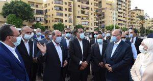 رئيس الوزراء :يتفقد موقع تطوير ساحة مسجد عمرو بن العاص   رئيس الوزراء
