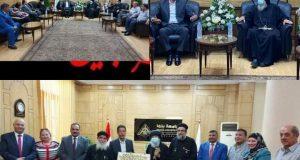 القائم بأعمال رئيس جامعة بنها يستقبل وفدا من الكنيسة القبطية الأرثوذكسية   القائم بأعمال
