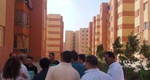 حملة ضبطية قضائية جديدة على وحدات الإسكان الاجتماعي المخالفة بمدينة بدر | حملة