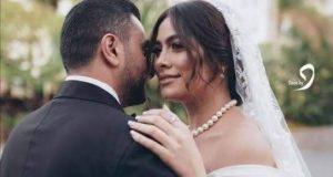 بحضور نجوم الوسط الفني هاجرأحمد تحتفل بحفل زفافها علي أحمد الحداد   نجوم الوسط الفني