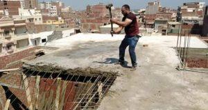 الإزالة الفورية لمخالفات البناء فى مهدها وعلى نفقة المخالف   الإزالة