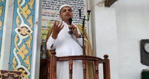 مدير أوقاف الرمل يؤدى خطبة الجمعة بمسجد المراغى الكبير بالأسكندرية | مدير