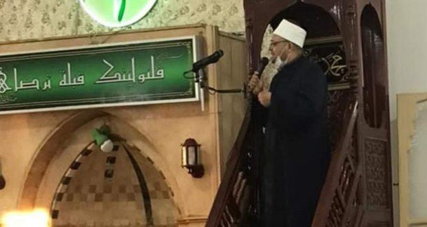 وكيل وزارة أوقاف الأسكندرية.. يؤدى صلاة العيد بمسجد أبى العباس المرسى | وكيل