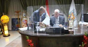 اللواء خالد فودة محافظ جنوب سيناء يوافق علي طلبات تصالح لمواطني مدينة نويبع   اللواء خالد فودة محافظ جنوب سيناء