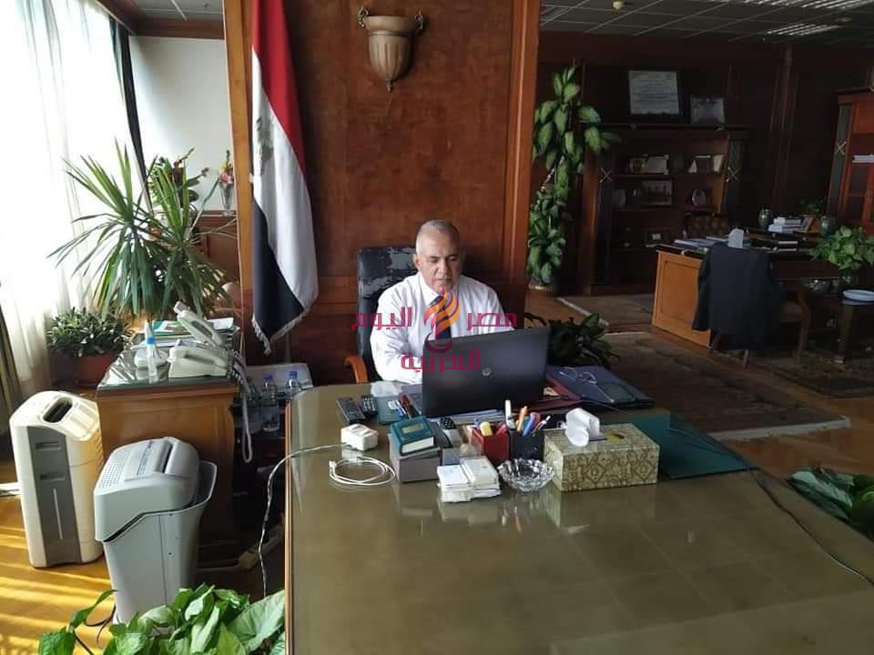عبر فديو كونفرانس لجنة ايراد النهر في اجتماع دائم لمناقشة التعامل مع الفيضانات | كونفرانس