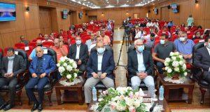 وزير التنمية المحلية و محافظ بورسعيد يستعرضان مستجدات العمل فى المشروعات الخدمية والتنموية الجديدة ببورسعيد .