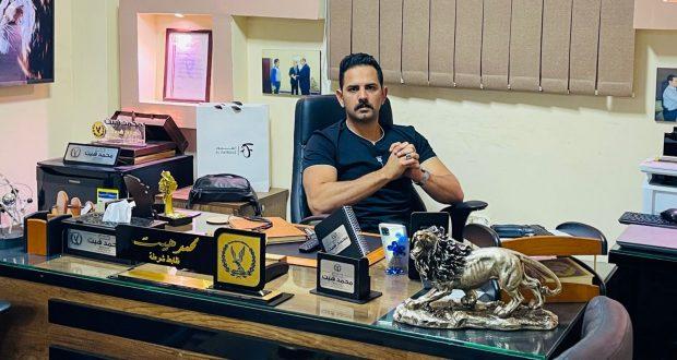 مصر اليوم العربية تقدم رسالة شكر الى الرائد محمد هيت | رسالة