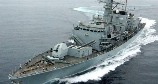 فرقاطة بريطانية تبحر في مضيق تايوان الأمر الذي يثير غضب الصين
