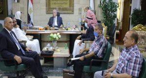 فودة يعلن اخبار سارة لأهالي مدينة طابا بناء 116 بيت بدوى ب7 تجمعات بدوية |