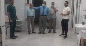 رئيس مدينة مطوبس فى زيارة غير معلنة لمستشفى مطوبس المركزى |