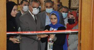 محافظ كفر الشيخ ونائبه ورئيس الجامعة يفتتحون 3 معارض فنية بـ نوعية كفر الشيخ |
