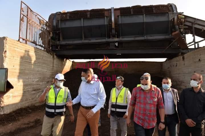 - محافظ الدقهلية يتفقد سير العمل بمصنع تدوير المخلفات البلدية بأجا بعد إعادة تأهيله ورفع كفاءته. |