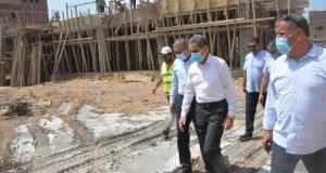 محافظ الغربية : ومتابعة مستمرة لانجازات وتطوير المحافظة خاصة مدينة طنطا |