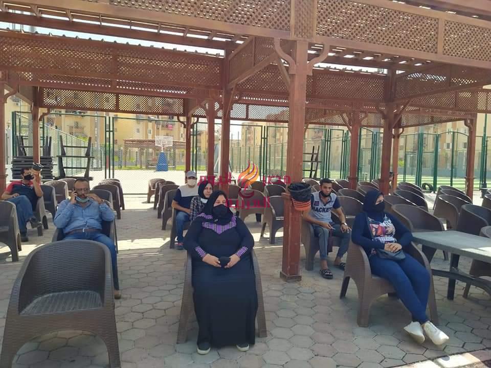 مراكز التطعيم الجديدة ببورسعيد تستقبل المواطنين لتلقى لقاح كورونا المستجد . |