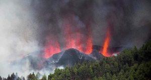 إذاعة وطن : تؤكد ثوران بركان جزيرة لا بالما الإسبانية  