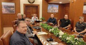 محافظ بورسعيد يستقبل ممثلي شركة لامبورجيني الايطالية |
