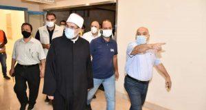 وزير الأوقاف يتفقد المبنى الجديد لوزارة الأوقاف بالعاصمة الإدارية الجديدة  