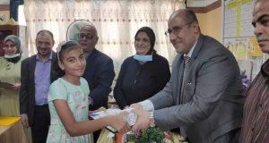 مدرسة الشهيد المغربى بدسوق تقيم حفل لتكريم الطلاب المتفوقين |