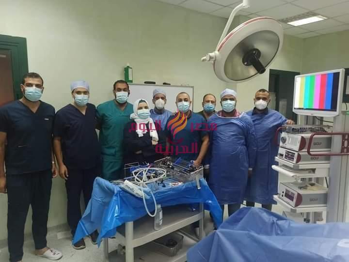 وصول أحدث أجهزة المنظار الجراحي بمستشفى كفر الزيات |