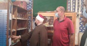رئيس المنطقة الازهرية بالغربية فى زيارات تففقدية للمعاهد استعدادا للعام الدراسى الجديد |
