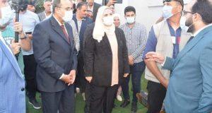 زيارة ميدانية لوزيرة التضامن الإجتماعي لشمال سيناء |